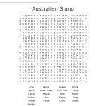Australian Slang Word Search   Wordmint