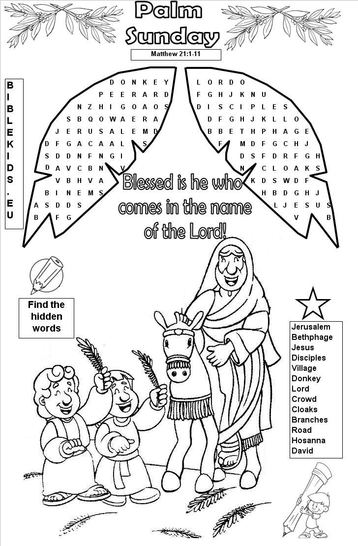 Bible Word Search Puzzles - Printable Bible Word Search