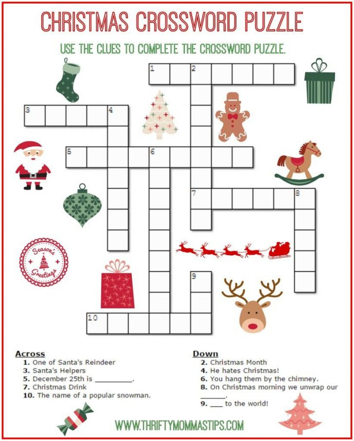 Free Printable Christmas Word Search Puzzles For Adults
