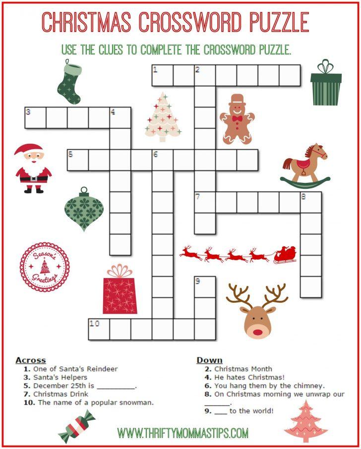 Christmas Word Search Printable PDF