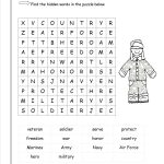 Coloring : Veterans Day Word Search Freeng Pages For Kids