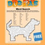 Dog Word Search | Free Printable Word Searches, Dog Words