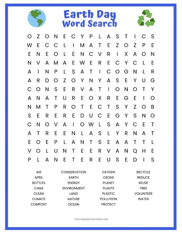 Word Search Free Printable PDF