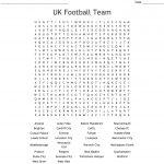 English Football Teams Word Search   Wordmint