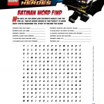 Free Batman Mask And Activity Printables | Batman Mask, Lego