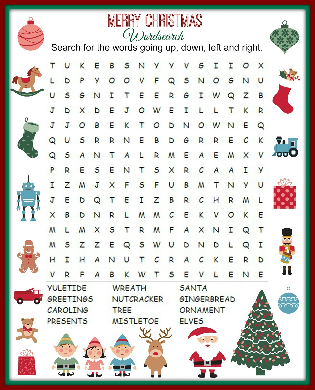 Free Printable Kids Word Search | Printable Shelter