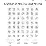 Grammar On Adjectives And Adverbs Word Search   Wordmint