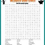 Halloween Word Search Printable {Free Download!} | Halloween