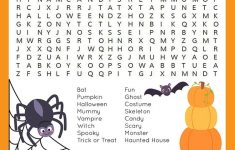 Halloween Word Search Printable – Happiness Is Homemade