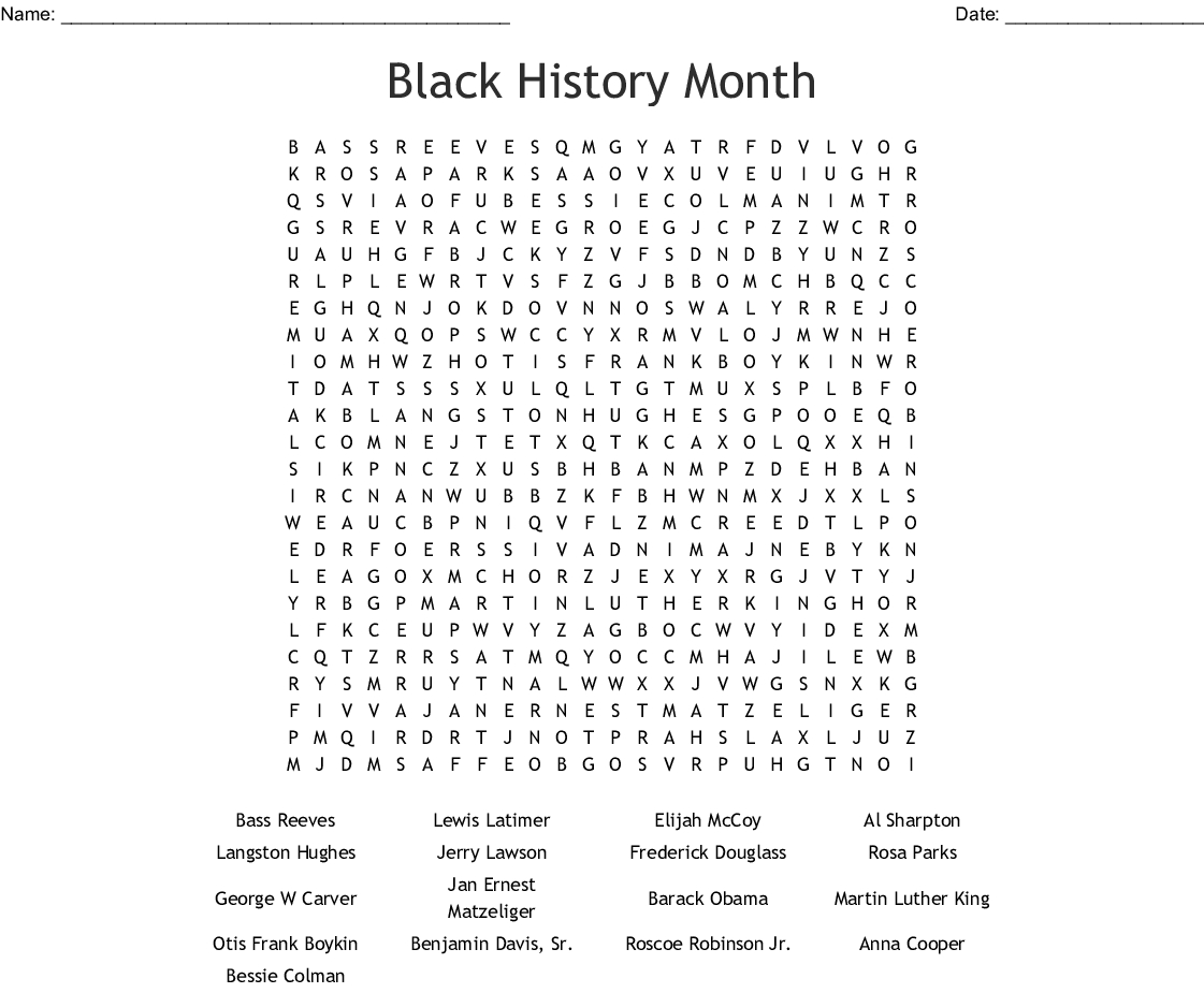 History Puzzle Worksheets | Printable Worksheets And