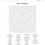 Louisiana Word Search   Wordmint