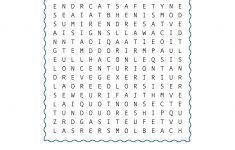 Paul's Shipwreck Word Search | Sunday School Activities
