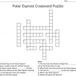 Polar Express Crossword Puzzle   Wordmint