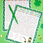 St. Patrick's Day Word Search Printable   Happiness Is Homemade