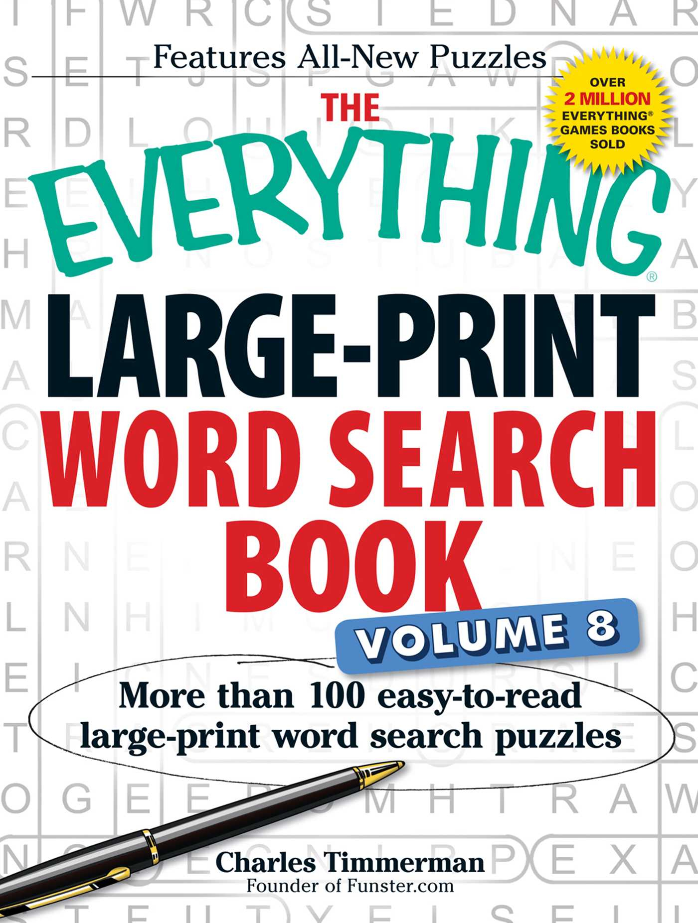 The Everything Large-Print Word Search Book Volume 8 | Book