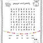 1St Grade Word Search