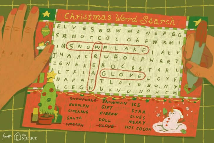 Christmas Word Search Printables Ks1