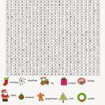 36 Printable Christmas Word Search Puzzles | Kittybabylove