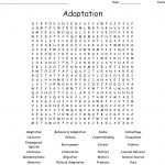 Adaptation Word Search   Wordmint