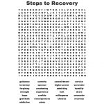 Addiction Word Search   Wordmint