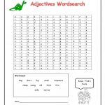 Adjectives Word Search   English Esl Worksheets For Distance