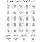 Advent Wreath Word Search   Wordmint