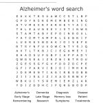 Alzheimer's Word Search   Wordmint