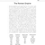 Ancient Rome Word Search   Wordmint