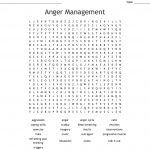 Anger Management Word Search   Wordmint