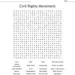 Black History Month Word Search   Wordmint