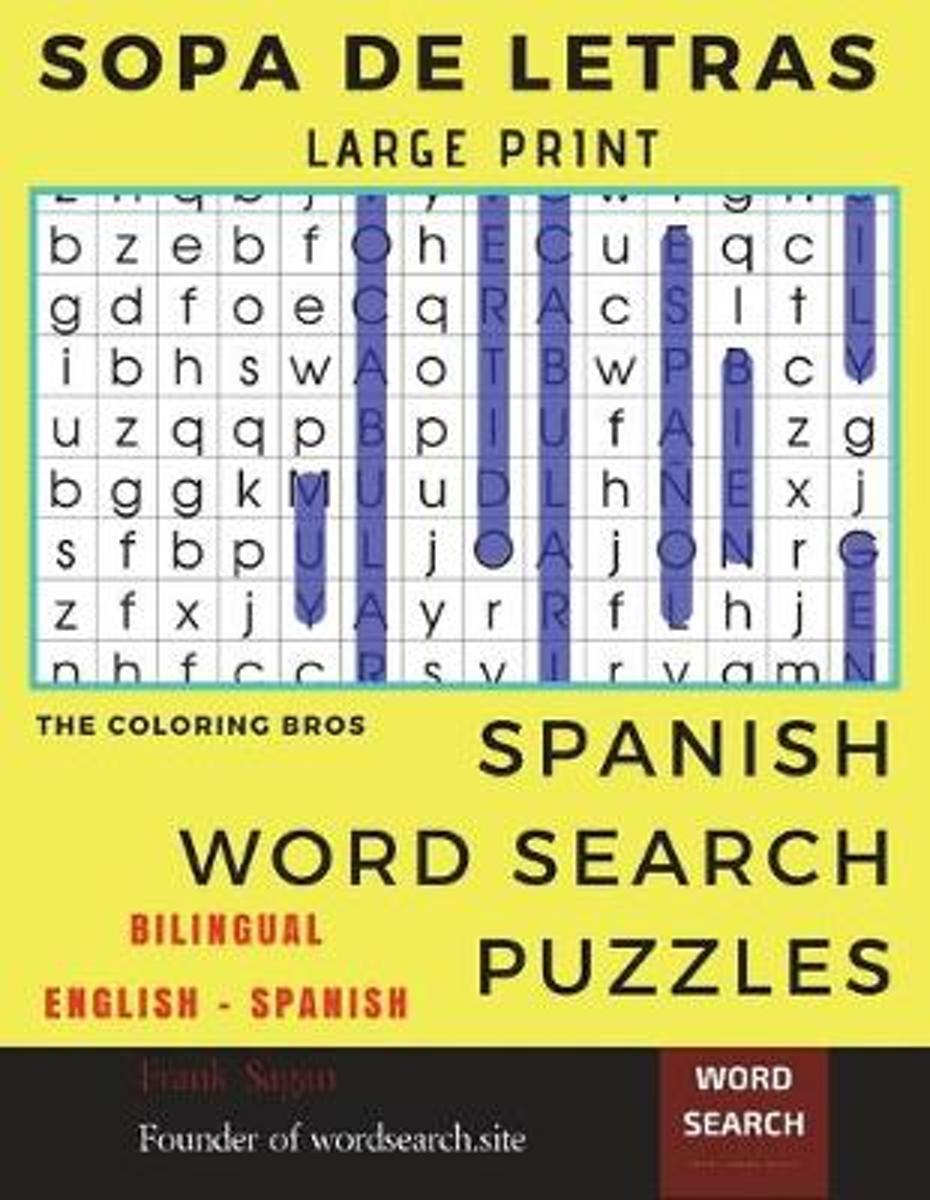Bol | Sopa De Letras, The Coloring Bros | 9781717214430