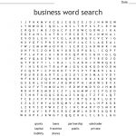 Business Word Search   Wordmint