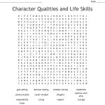 Character Qualities And Life Skills Word Search   Wordmint