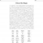 Cinco De Mayo Word Search   Wordmint