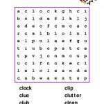 Cl Wordsearch
