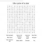 Components Of The Universe Word Search   Wordmint