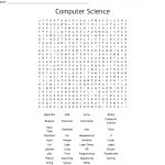 Computer Science Word Search   Wordmint