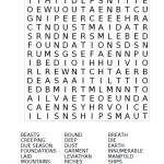 Crossword Puzzle Creation Crossword  | Days Of Creation