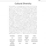 Cultural Diversity Word Search   Wordmint