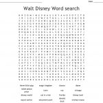 Disney World Word Search   Wordmint