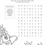 Download This Great Advent Word Search For Your Family Or