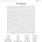Dr Seuss Word Search   Wordmint