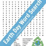 Earth Day Word Search Free Printable For Kids | Earth Day
