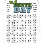 Earth Day Word Search Printable: Easy Earth Day Wordsearch