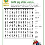 Earth Day Word Search Printable: Top 10 Earth Day Word