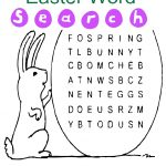 Easter Word Search For Kids   Printable Shelter
