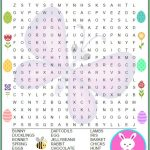 Easter Word Search Free Printable | Printables | Easter