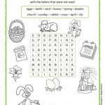 Easter Wordsearch   English Esl Worksheets For Distance
