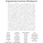 Engineering Invention Wordsearch   Wordmint