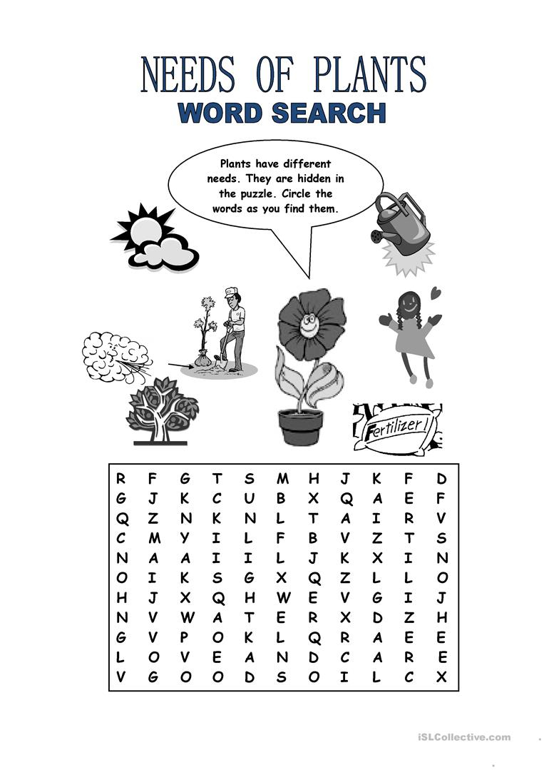 English Esl Plants Worksheets - Most Downloaded (19 Results)